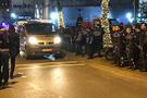 İstanbul'un göbeğinde gece yarısı gergin anlar