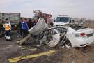 Ağrı'da trafik kazası: 4 ölü