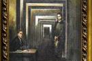 Hitler'in yaptığı tablo ilk kez sergilendi