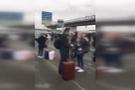 Fransa'yı sarsan çifte saldırı havalanında büyük panik