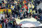 Türk bakanlara izin vermeyen Almanya, PKK mitingine ses çıkarmadı