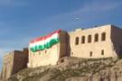 Kerkük Valisi azıttı! Kürdistan bayrağı Kerkük kalesine asıldı