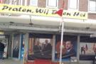 Hollanda polisi Erdoğan posterlerine bile tahammül edemedi
