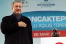 Erdoğan'dan o pankart için sert sözler