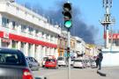 Sakarya'da lastik deposunda yangın