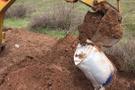 Lice'de toprağa gömülü bulundu kazdıkça çıktı