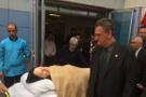Hüsnü Bozkurt'un 88 yaşındaki annesi tedavi gördüğü hastaneden çıkarıldı