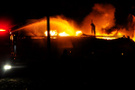 Afyon son dakika patlama! Alevler kent merkezinden görüldü
