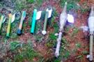 Jandarma timleri toprağa gömülü halde buldu