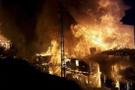Çorum'da 60 haneli köyde 45 ev yandı