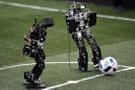 Robotlar görücüye çıktı Türkiye'yi YTÜ temsil ediyor