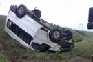 Çorum'da öğrenci minibüsü devrildi: Çok sayıda yaralı var!