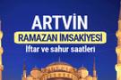 Artvin Ramazan imsakiyesi 2017