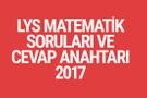 LYS Matematik soruları ve cevapları 2017 ÖSYM ais