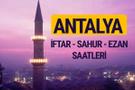 Antalya iftar saati imsak vakti ve ezan saatleri