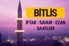 Bitlis iftar saati imsak vakti ve ezan saatleri