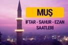 Muş iftar saati imsak vakti ve ezan saatleri