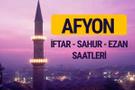 Afyon iftar saati imsak vakti ve ezan saatleri
