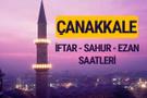 Çanakkale iftar saati imsak vakti ve ezan saatleri