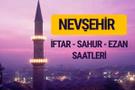 Nevşehir iftar saati imsak vakti ve ezan saatleri