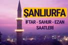 Şanlıurfa iftar saati imsak vakti ve ezan saatleri