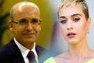 Mehmet Şimşek'ten Katy Perry paylaşımı