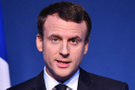 Macron: Suriye'yi tek başımıza vururuz