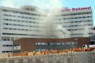 Hastanede yangın çıktı mahsur kalanlar var