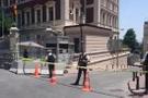 Taksim'de son dakika şüpheli paket alarmı