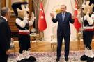 Cumhurbaşkanı Erdoğan'a sürpriz ziyaret