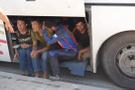 Yolcu otobüsü durdurulunca... Tam 119 kişi!