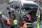 Bolu'da can pazarı: Yolcu otobüsüyle kamyon çarpıştı!