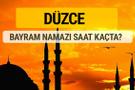 Düzce Kurban bayramı namazı saati - 2017