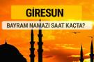 Giresun Kurban bayramı namazı saati - 2017