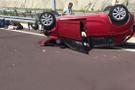 Festival dönüşü korkunç kaza: 1 ölü 4 yaralı