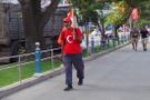 Eren Bülbül için Samsun'dan Maçka'ya yürüyor