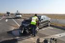 Aksaray'da iki otomobil çarpıştı: 1 ölü, 2 yaralı