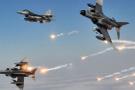 Jetler PKK'lı teröristlere bomba yağdırdı