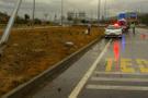 Çorum'da trafik kazası: 4 yaralı