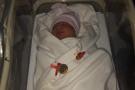 Yeni yılın ilk bebeği 'Esila bebek' oldu!