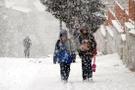 Çankırı hava durumu meteoroloji kar alarmı verdi