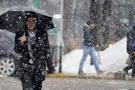 Konya hava durumu meteoroloji kar alarmı verdi