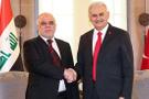 Başbakan Yıldırım İbadi ile görüştü