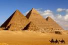 Piramitler meteordan yapılan bir taht var