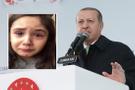 Minik Irmak, Erdoğan'ı göremeyince hüngür hüngür ağladı!