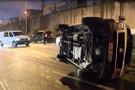 İstanbul trafiğini kilitleyen kaza! Yaralılar var