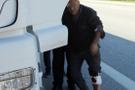 Çapkın TIR şoförü fuhuş yapmak için durdu gasp edildi!