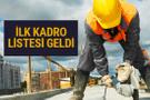 Taşeron kadro listesi 2018 isim isim ilk başvuru sonuçları