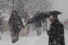 Kar başladı Bursa hava durumu son uyarı