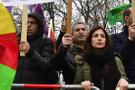 Almanya'da terör destekçileri ortalığı karıştırdı